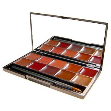 Warm Lip Gloss Palette